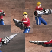 Space Harrier model kits let you enter the Fantasy Zone, store your stationary