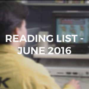 JUNE2016READINGLIST