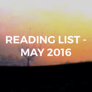 MAY2016READINGLIST