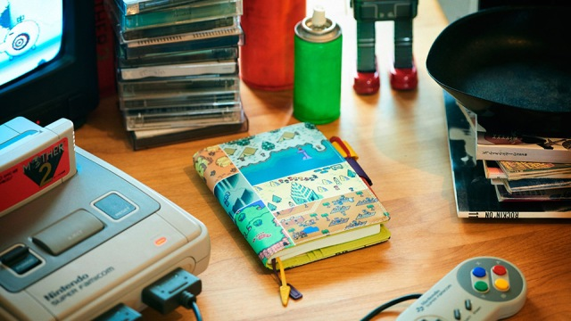 MOTHER 2 x Hobonichi returns for 2017 planner accessory